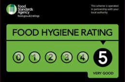 Postcake Food Hygiene Rating 5