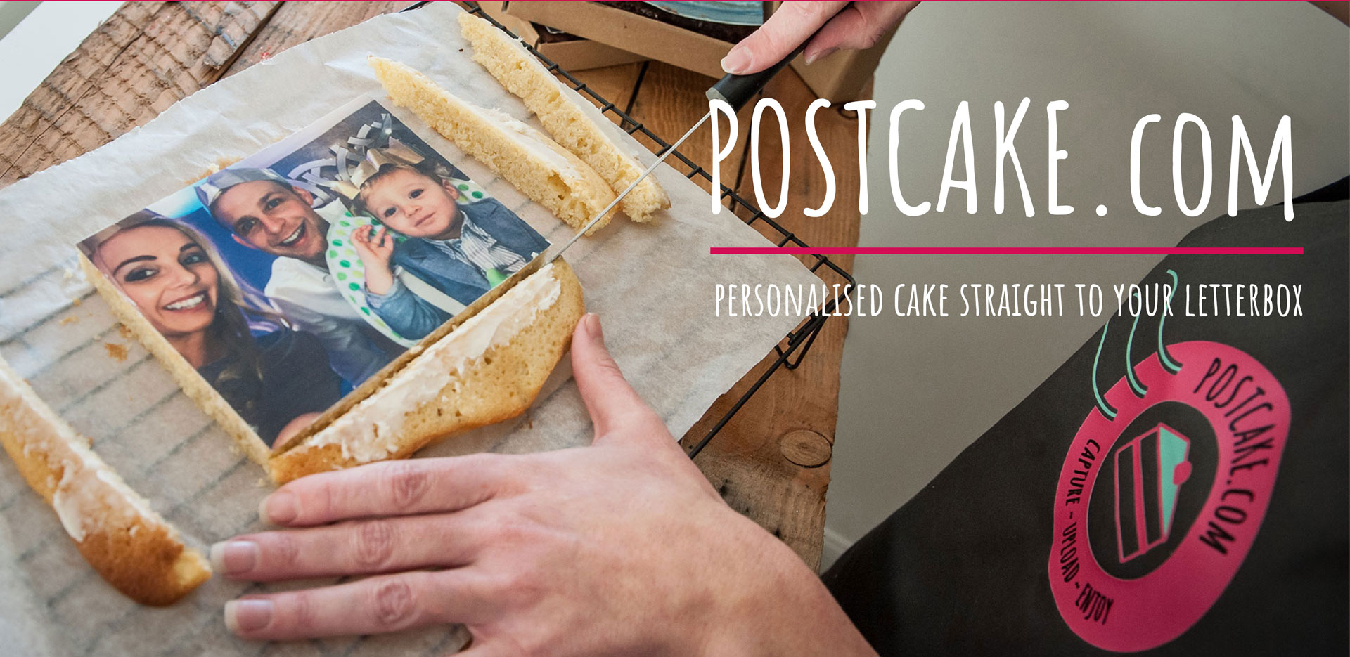 Postcake - Send Personalised Cake in the Post - Cake Card