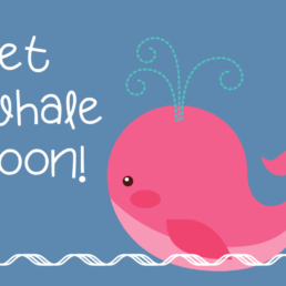 Get Whale Soon Cake