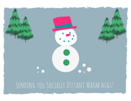 Sending Socially Distant Warm Hugs